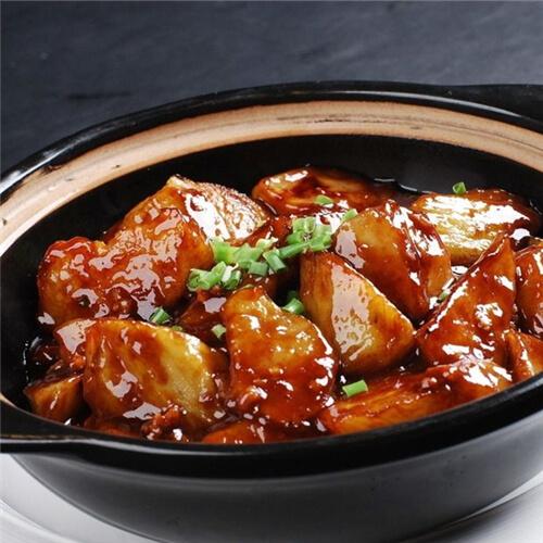 砂锅肉末茄子