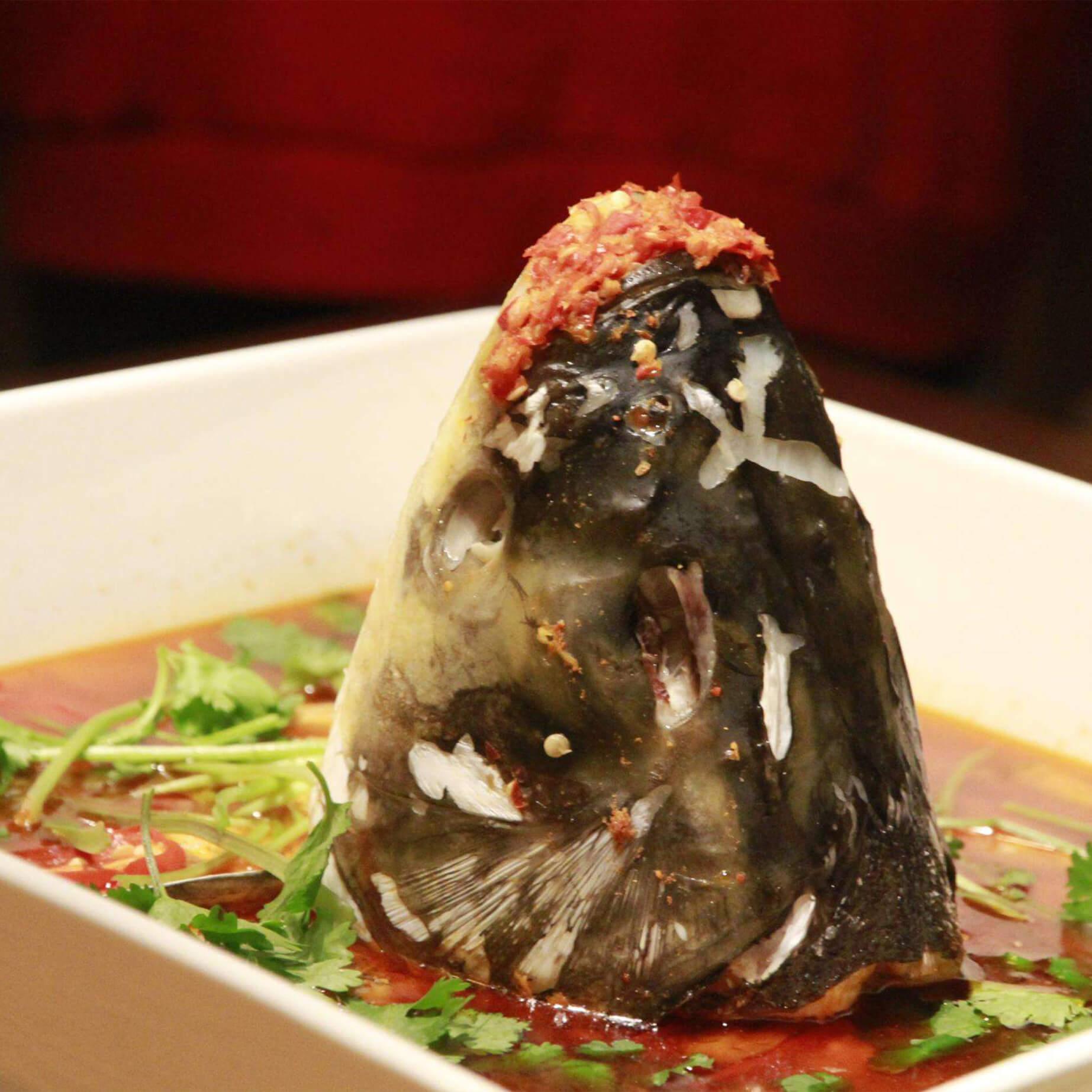 鲢鱼头蛤蜊汤