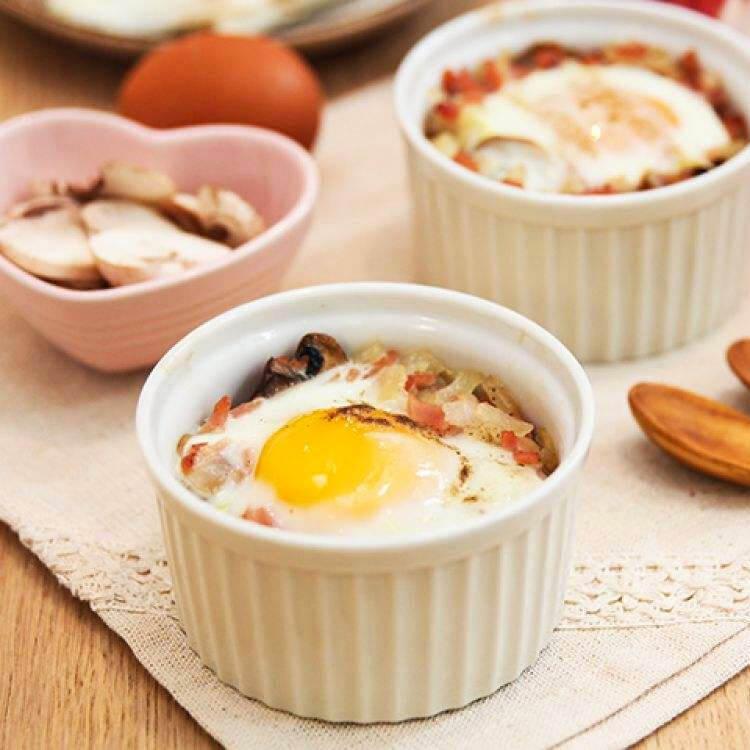 简单的焗烤蛋盅