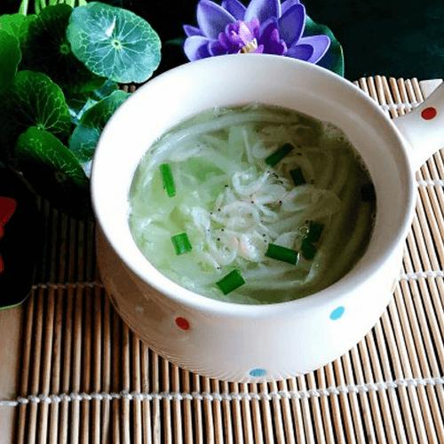 虾皮白菜汤