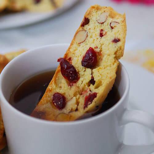 蔓越莓杏仁手撕面包