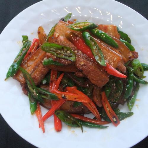 十分喜欢的青椒回锅肉