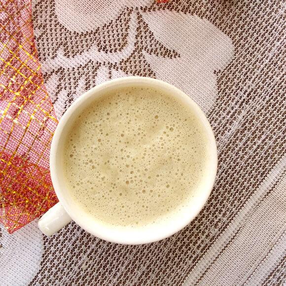 好喝的秋葵熟豆豆浆