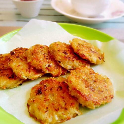 简单的早餐土豆丝饼