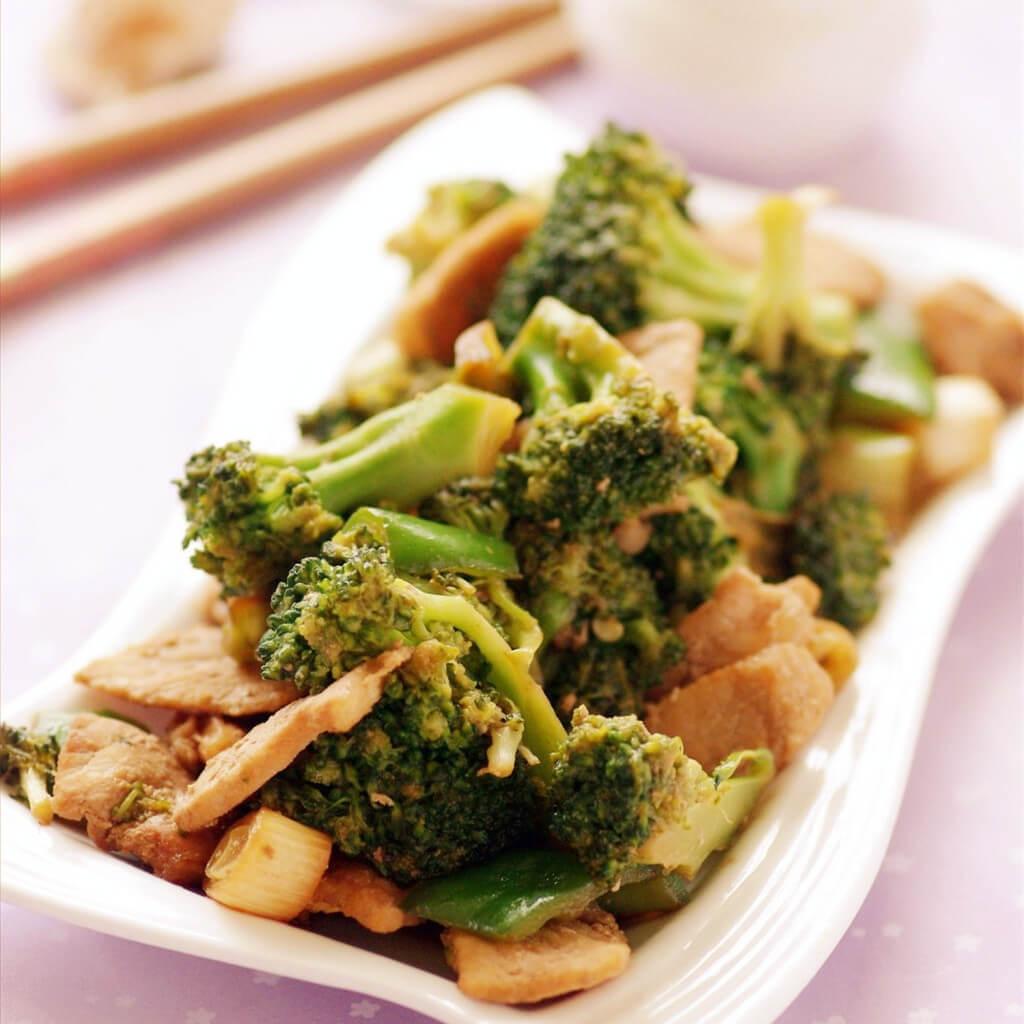 青菜烧兰花豆腐干