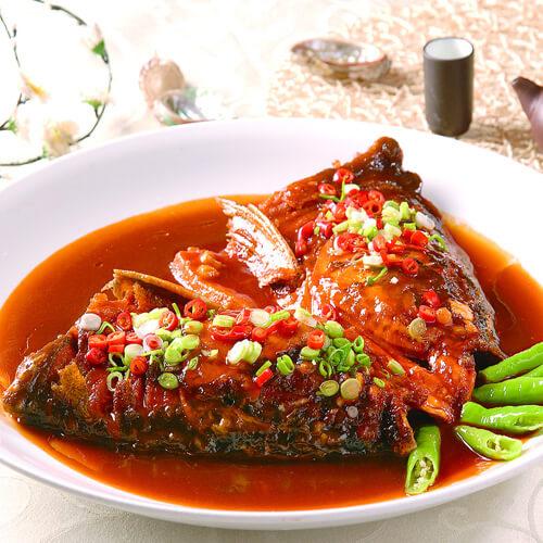 美美厨房之红烧鱼头