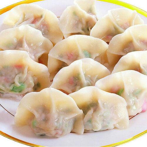 青萝卜香菜猪肉饺子