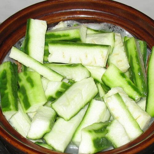 常吃不腻的丝瓜汤