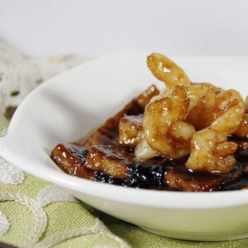 照烧海苔虾仁豆腐