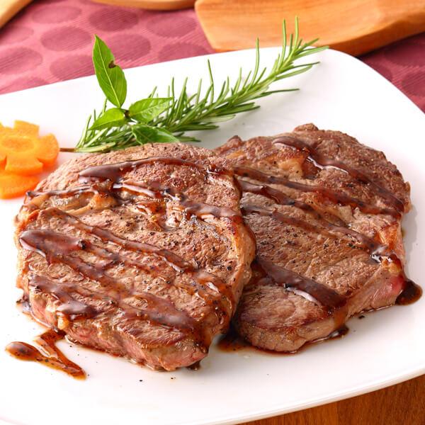 嫩煎眼肉牛排