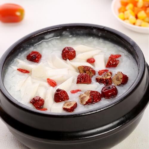 银耳百合红枣粥