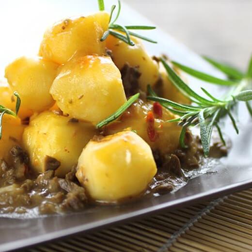 毛豆烧土豆