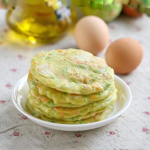 西葫芦鸡蛋早餐煎饼