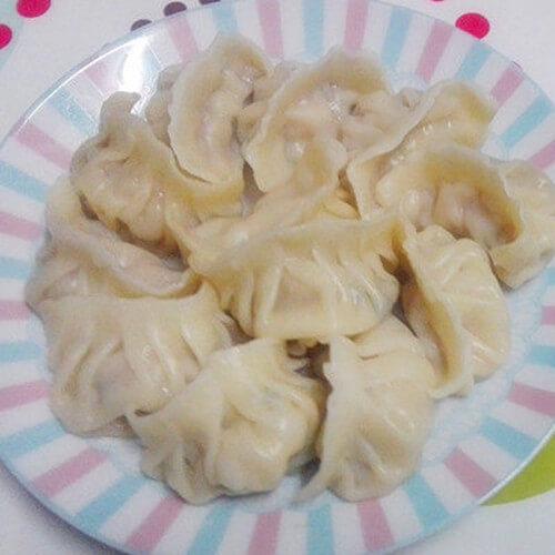 白菜猪菜饺子