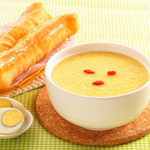 爱心早餐之温暖小米粥