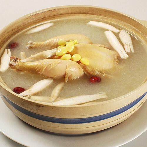 营养超简单的杂菌鸡汤
