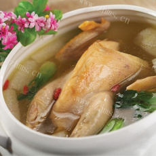 记忆中的竹荪炖鸡