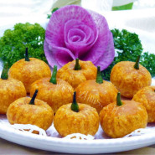桂花燕麦桔瓜
