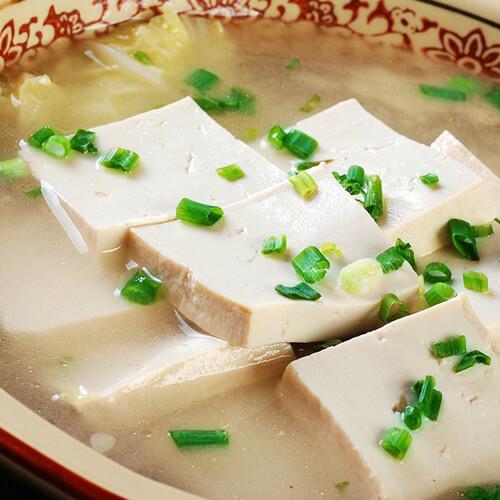 【家庭版】白菜豆腐汤