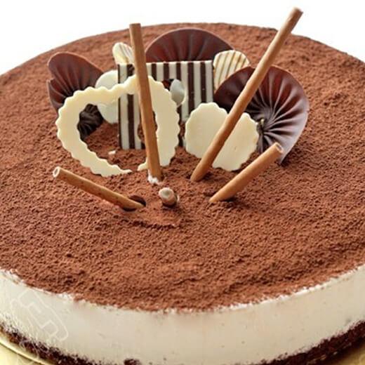 可可纹芝士蛋糕