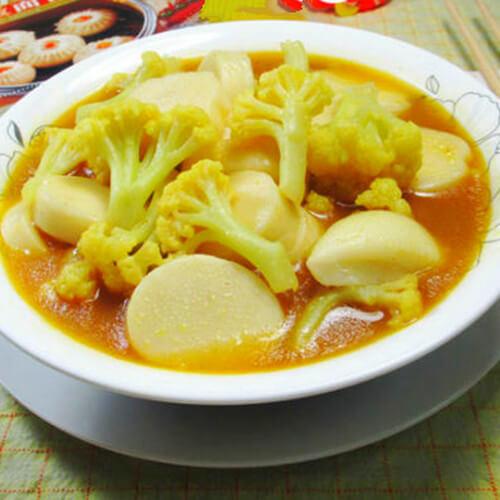 咖喱花菜年糕