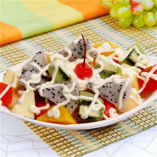 芝香水果沙拉