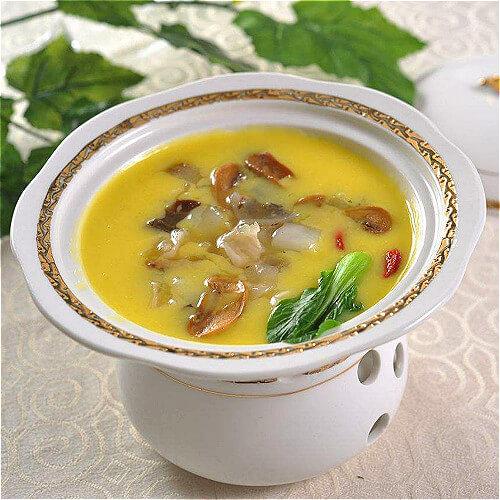 西洋菜木耳猪肝汤