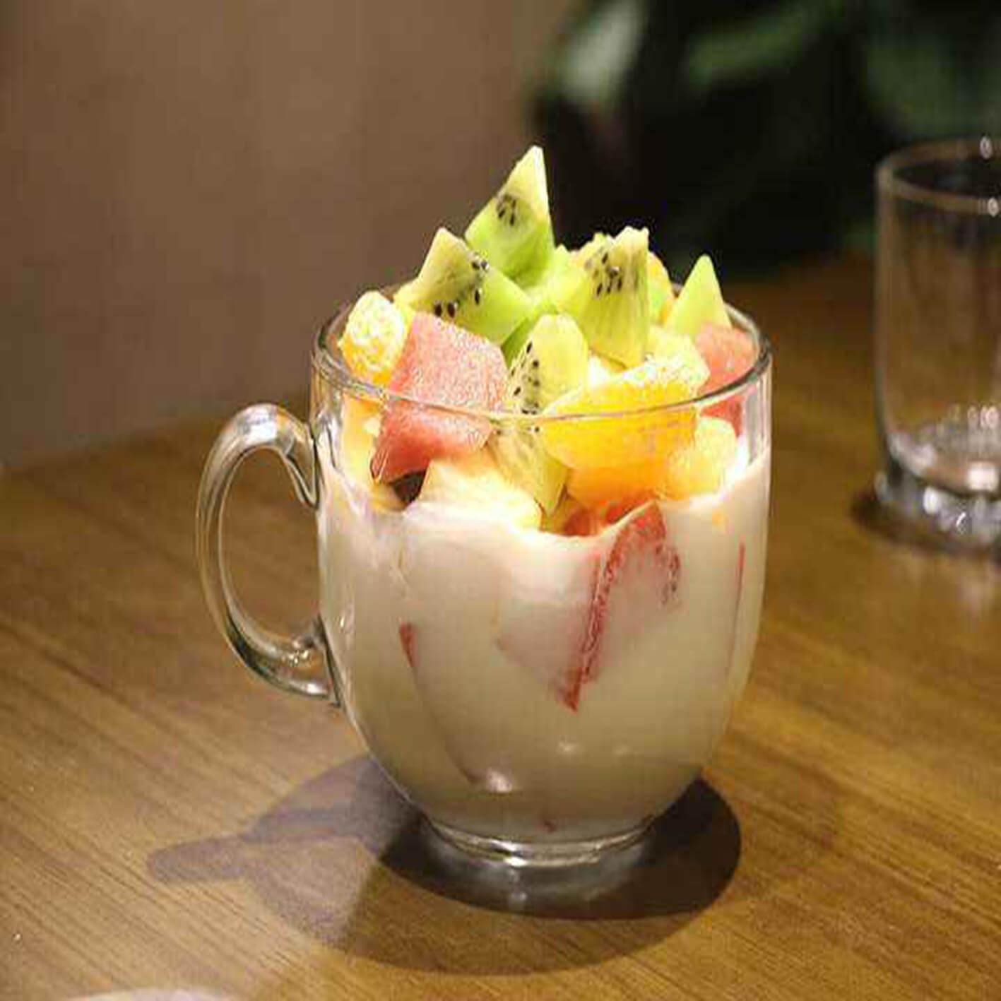 西瓜酸奶水果杯