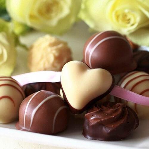 恋人爱心巧克力