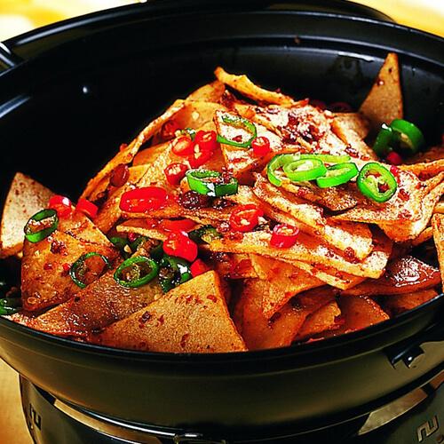 干锅腊肉土豆片