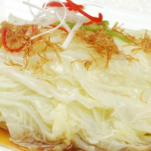 豉油白菜炒虾仁