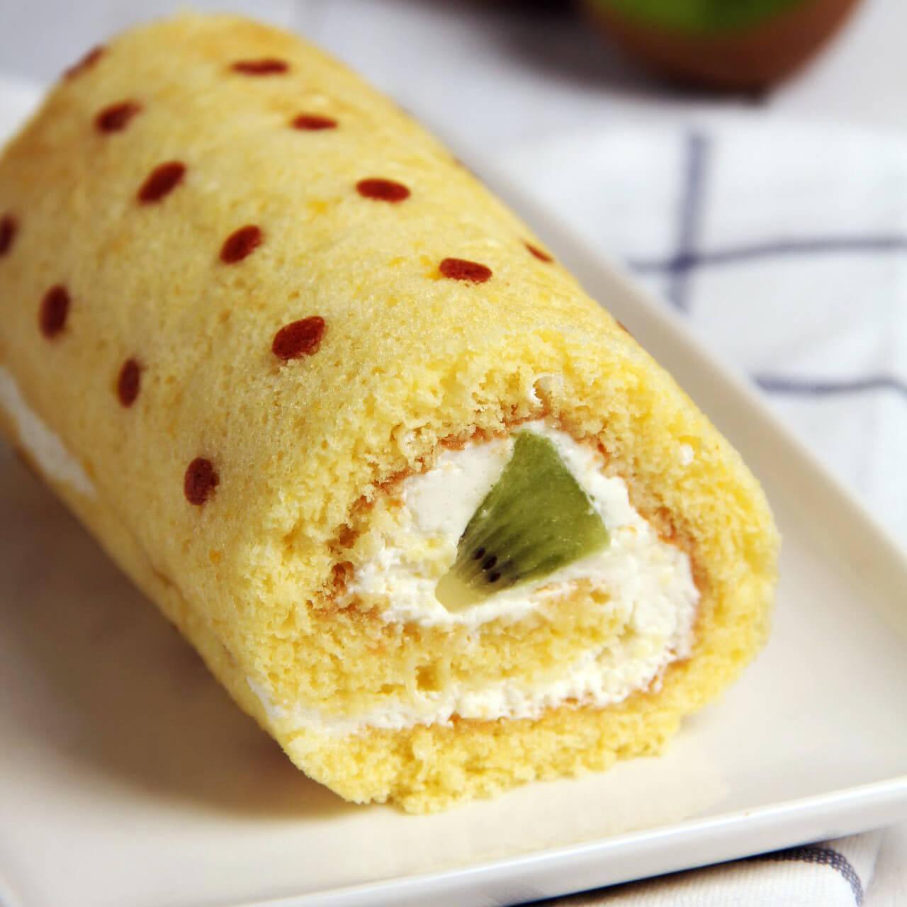 奇异果奶油蛋糕卷