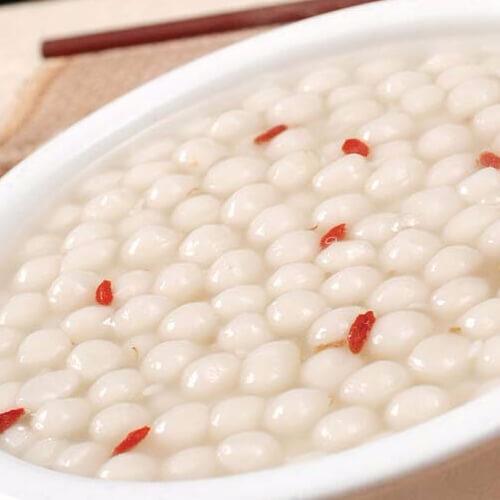 营养的米酒汤圆
