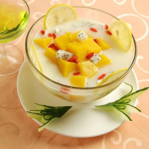水果味蜂酸奶