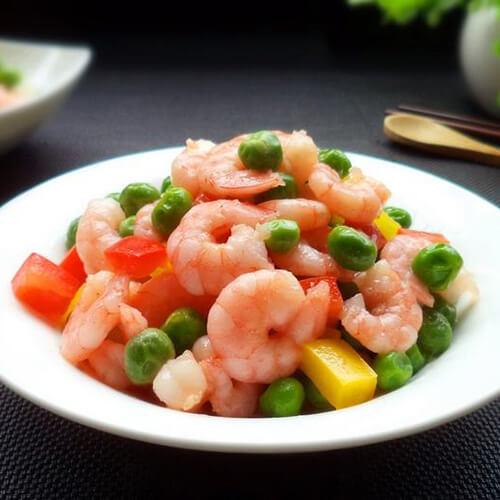 姜蒜爆虾仁