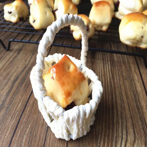 幸福感蔓越莓小面包块
