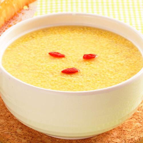 #营养美食#南瓜小米粥