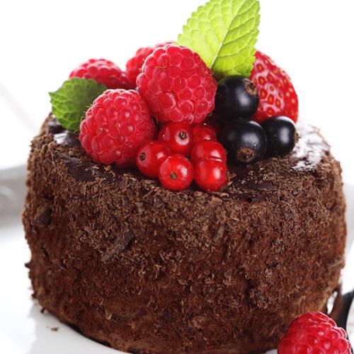 健康美食之巧克力蛋糕