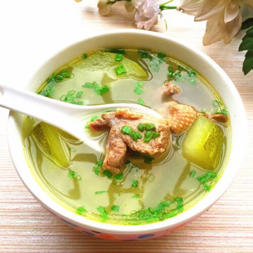 薏仁节瓜番鸭汤