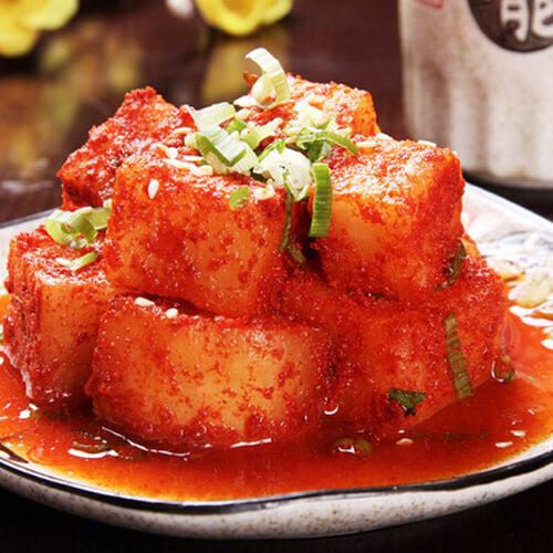 简易韩国萝卜泡菜