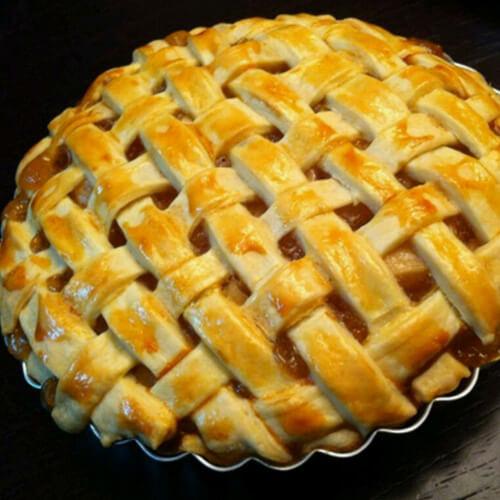 美味的苹果馅饼