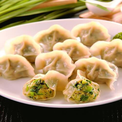 韭菜木耳肉饺子