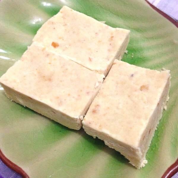 香甜的松子红枣糯米糕