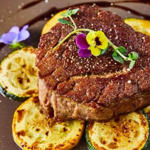 法式煎牛排