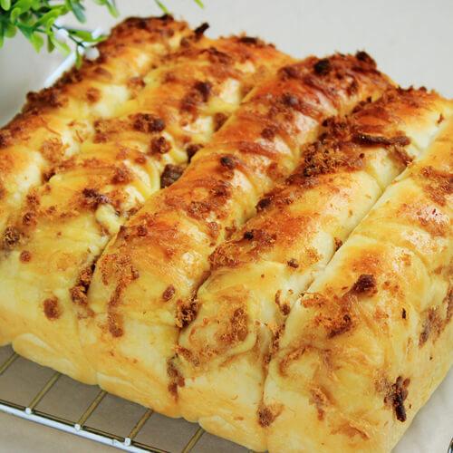 淡奶油酥粒排包