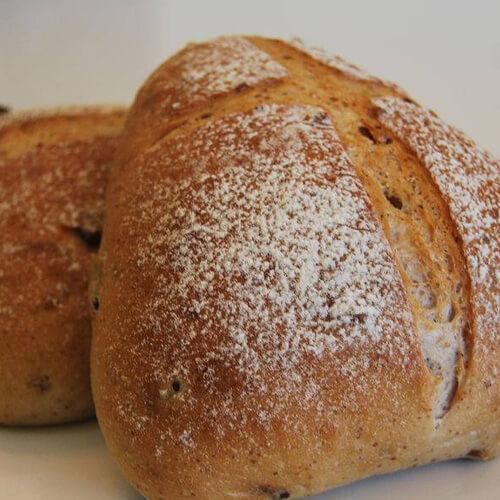 松软蔓越莓小面包块