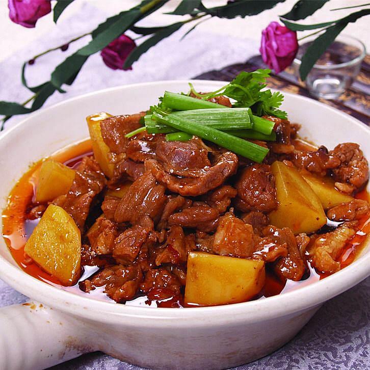 咸鸭炖土豆