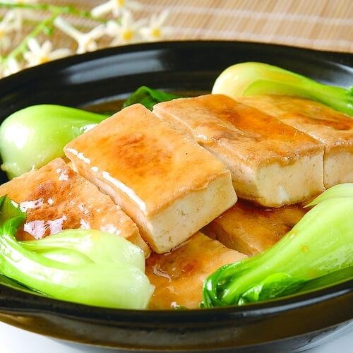 韩式泡菜海鲜豆腐煲