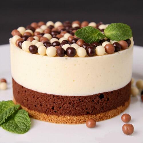 爱上巧克力慕斯蛋糕