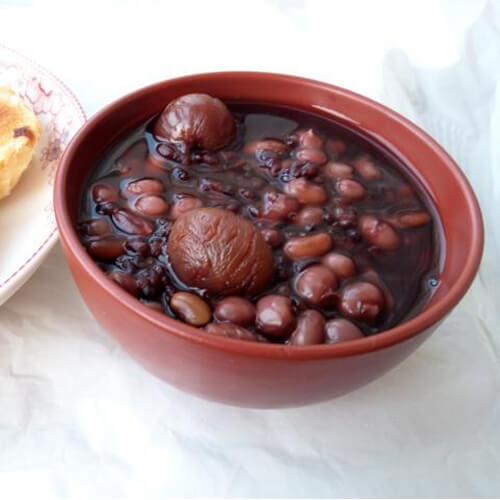 黑米红豆花生粥